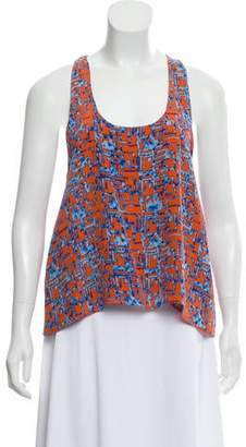 Alexis Silk Sleeveless Top
