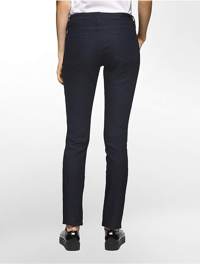 Calvin Klein Curvy Powerstretch Skinny Dark Wash Jeans