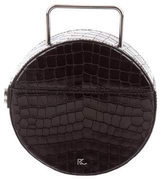 Rachel Comey Embossed Leather Rider Bag