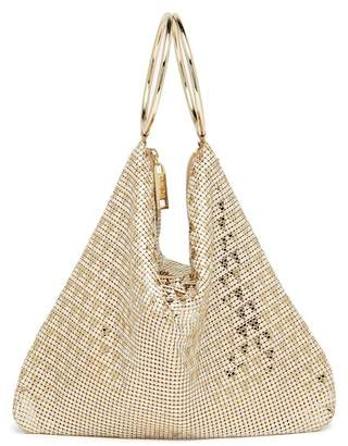 Whiting & Davis Deco Triangles Bracelet Bag