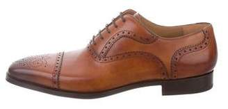 Magnanni Santiago Square-Toe Brogues w/ Tags