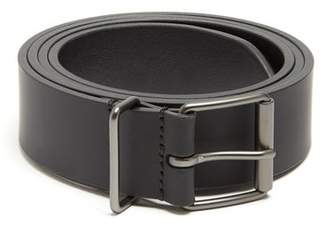 Andersons Anderson's - Smooth Leather Belt - Mens - Black