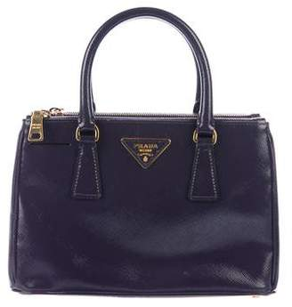 Prada Saffiano Lux Small Galleria Double-Zip Tote