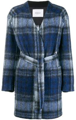 Dondup plaid oversized jacket