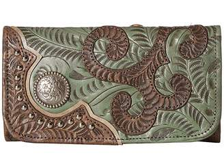 American West Annie's Secret Collection Trifold Wallet