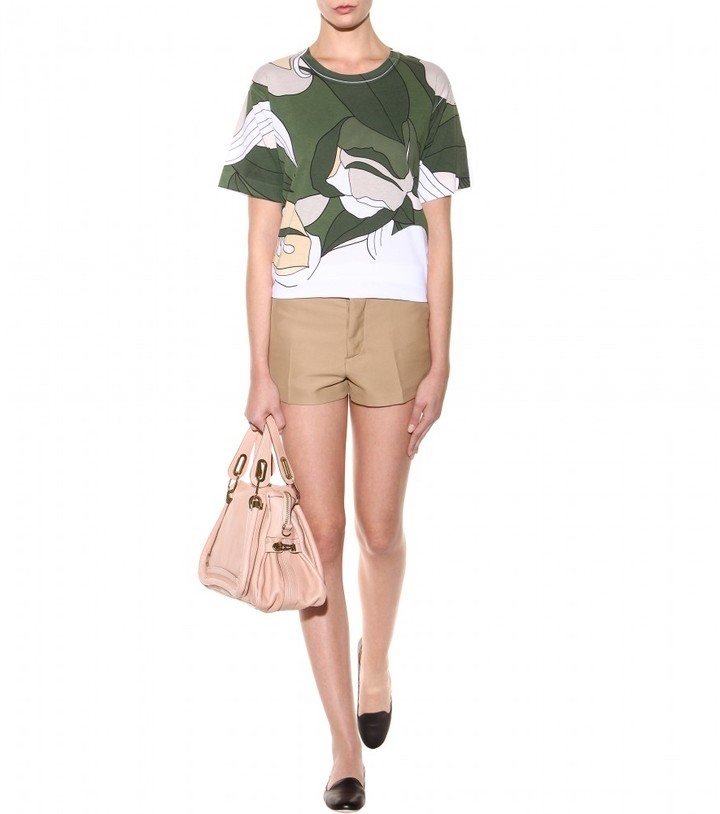 Marni Materic Floral printed cotton T-shirt