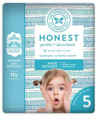 The Honest Company Honest 20-Pack Size 5 Diapers in Tribal Pattern