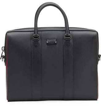 Christian Louboutin Men's Streetwall Leather Briefcase