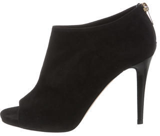 Jimmy Choo Jimmy Choo Hector Peep-Toe Booties