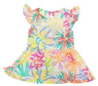 Lucky Jade Woven Spring Dress (Baby & Toddler Girls)