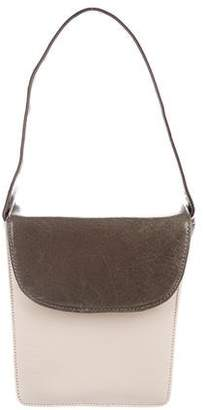 Carlos Falchi Tricolor Leather Handle Bag