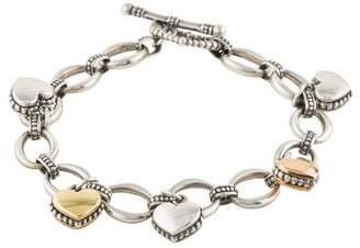 Lagos Beloved Heart Charm Bracelet