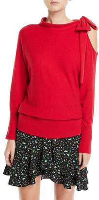 Club Monaco Tinashe Cutout-Shoulder Sweater