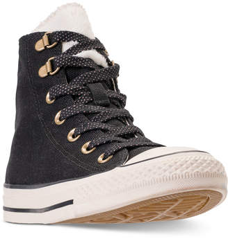 Converse Chuck Taylor All Star Furst Love High Top Casual Sneakers from Finish Line
