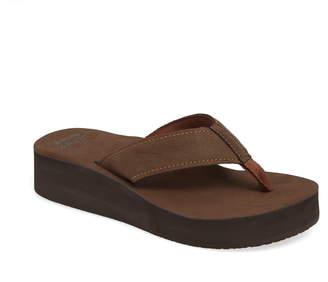 69c13f1dcac Reef Brown Flip Flop Women s Sandals - ShopStyle