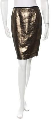 Tory Burch Metallic Mini Skirt w/ Tags