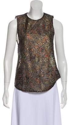 Roseanna Patterned Lace Top
