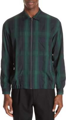 TOMORROWLAND Check Slim Fit Woven Shirt