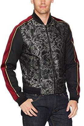 Just Cavalli Men's Printed Bomber Jacket