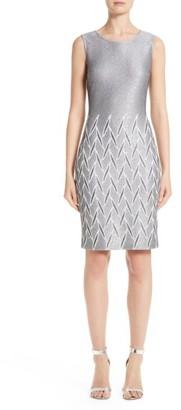 Women's St. John Collection Ebele Knit Dress $995 thestylecure.com