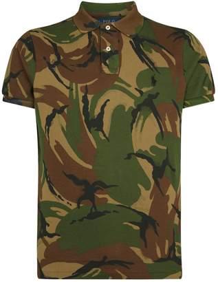 Polo Ralph Lauren Mesh Cotton Camo Polo Shirt