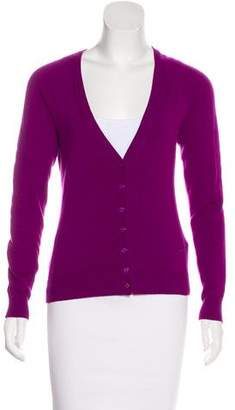 Emilio Pucci Cashmere Button-Up Cardigan