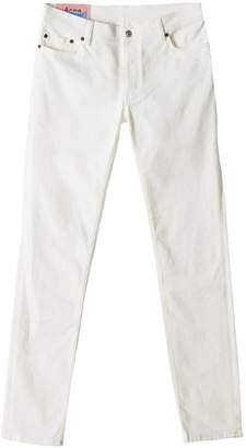 Acne Studios North Jean In White