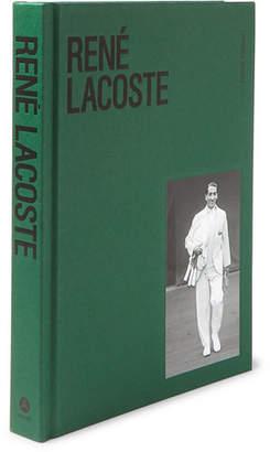 Abrams René Lacoste Hardcover Book - Green