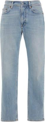 Acne Studios Melk High-Rise Cropped Slim-Leg Jeans