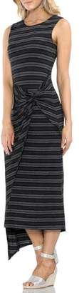 Vince Camuto Twist Front Striped Tank Dress