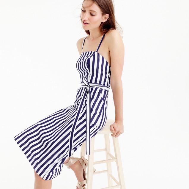 Thomas Mason® for J.Crew striped apron dress