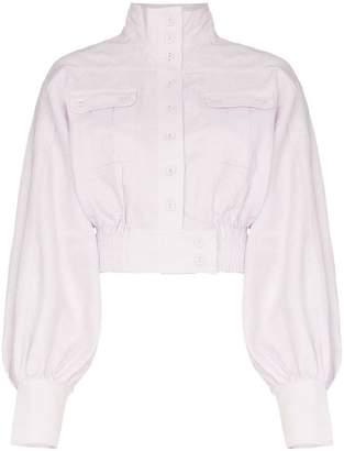 Zimmermann Ninety-six blouson sleeve jacket