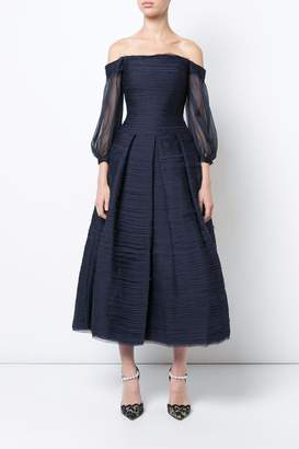 Marchesa Midi_tea Dress