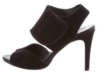 Pedro Garcia Cutout Suede Sandals