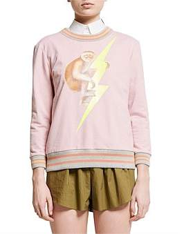 Karen Walker Monkey Sweatshirt