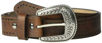Ariat Classic with Pierced Edge Trim Belt Women's Belts