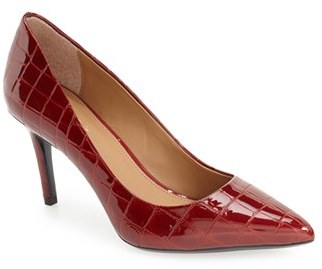 Women's Calvin Klein 'Gayle' Pointy Toe Pump $109.95 thestylecure.com