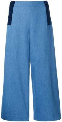 Parker Chinti & Sailor wide-leg cropped jeans jeans