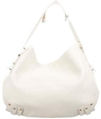 Giorgio Armani Leather Hobo Bag