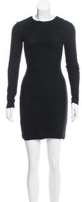 Kimberly Ovitz Textured Mini Dress