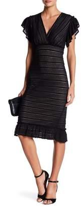 Max Studio Ruffle Lace Dress