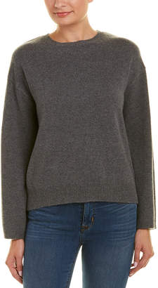 EVIDNT Backless Wool-Blend Sweater