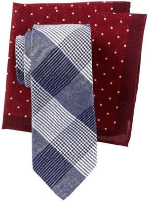 Alara Ranger Mini Gingham Tie & Pocket Square Box Set $95 thestylecure.com