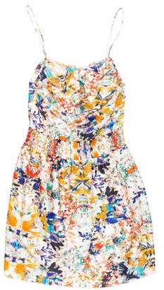 Rebecca Minkoff Printed Silk Mini Dress w/ Tags