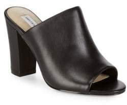 Saks Fifth Avenue Melina Block-Heel Mules