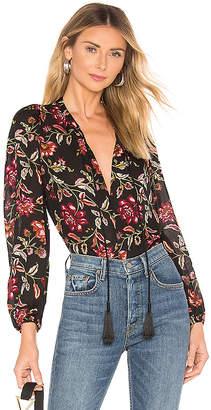A.L.C. Royan Vreeland Floral Top