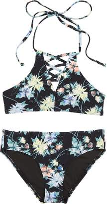 O'Neill Dahlia Floral Two-Piece Swimsuit