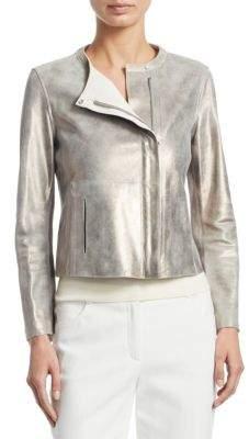 Akris Nabucco Reversible Leather Jacket