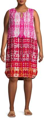 BeachLunchLounge Beach Lunch Lounge Tie-Dyed Shift Dress