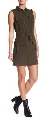 Haute Hippie Pocket Cinch Waist Dress